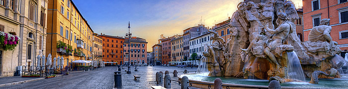 Navona Square Rome Wheelchair Accessible