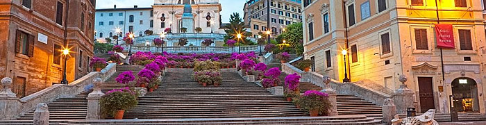 Spanish Steps Rome Wheelchair Accessible