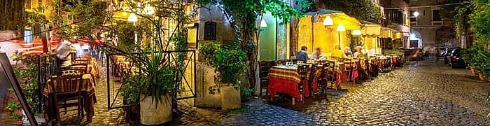 Trastevere Rome Wheelchair Accessible