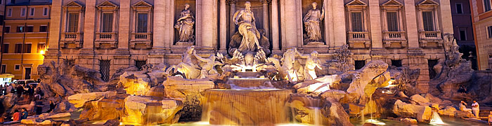 Trevi Fountain Rome Wheelchair Accessible